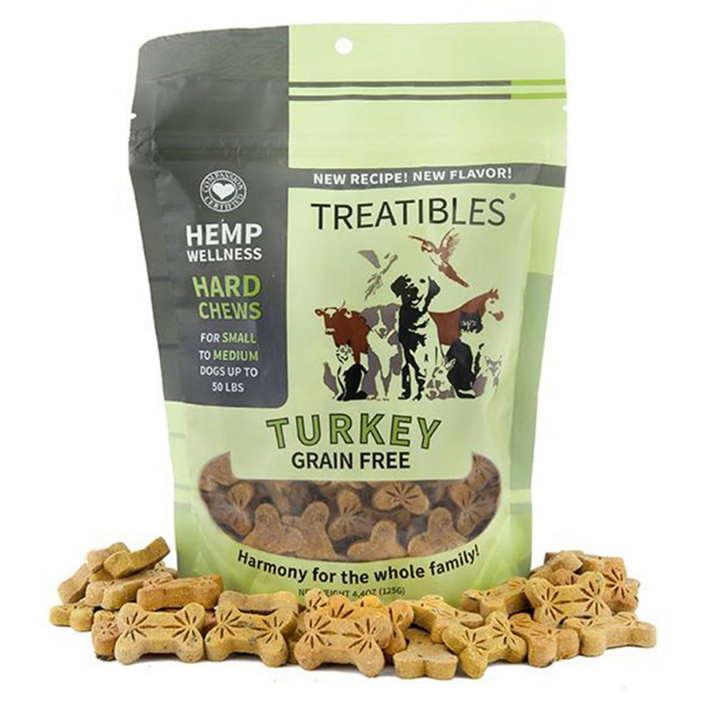 CBD product for dogs scared of fireworks #6: Hard Chews by Treatibles