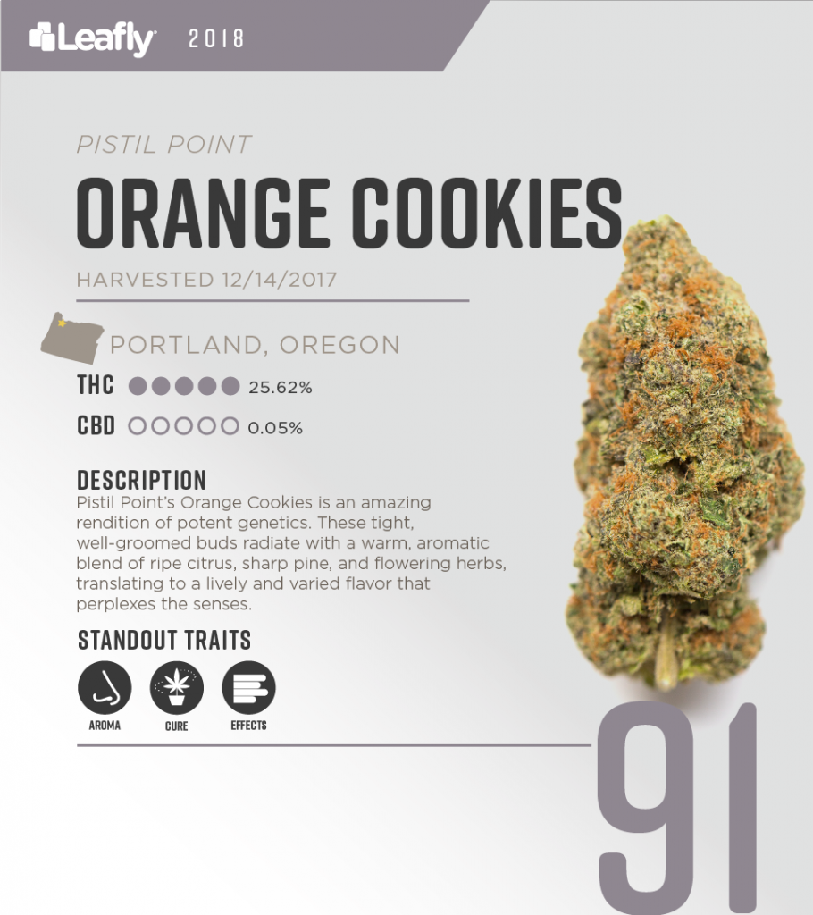 Try This Strain: Orange Cookies, the Body High for When You