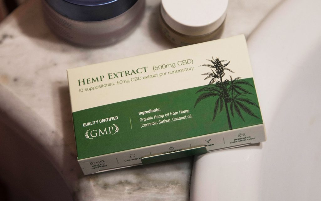 cbd suppositories for menstrual cramps: Endoca