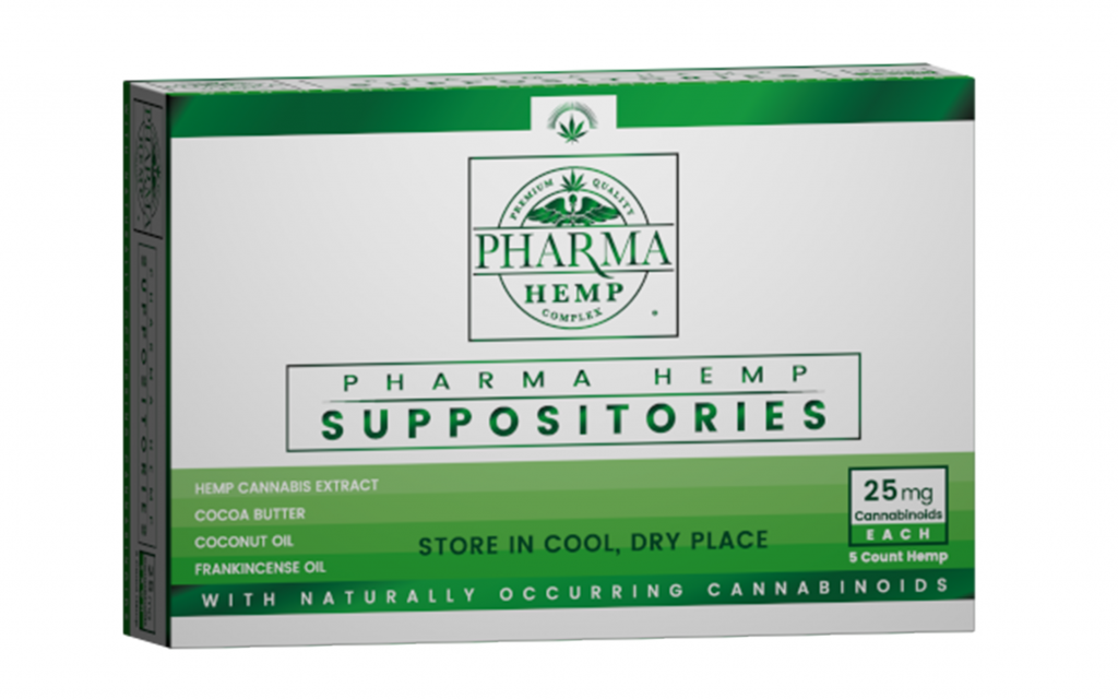 cbd suppositories for menstrual cramps: Pharma Hemp Suppositories