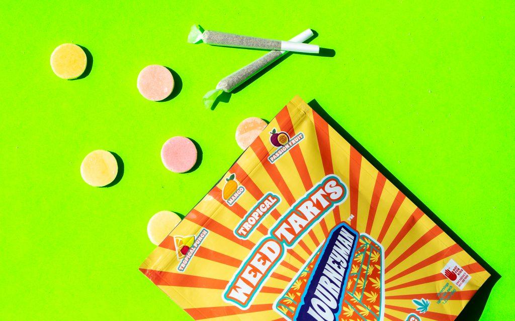 Marijuana fruit edibles in Washington: Weed Tarts from Journeyman