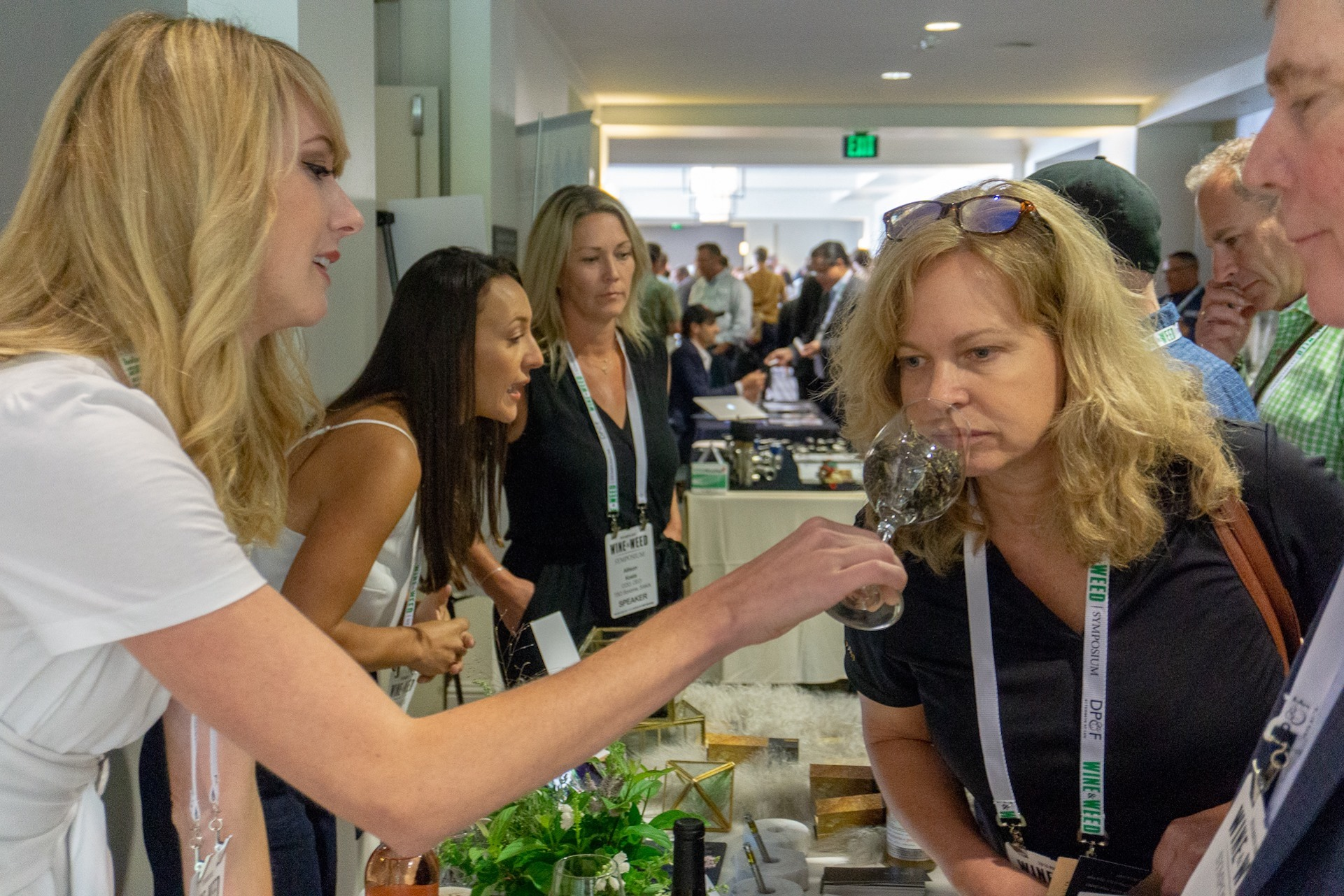 Smell Test: Future cannabis consumers might never like flower. (courtesy Wine+Weed Symposium)