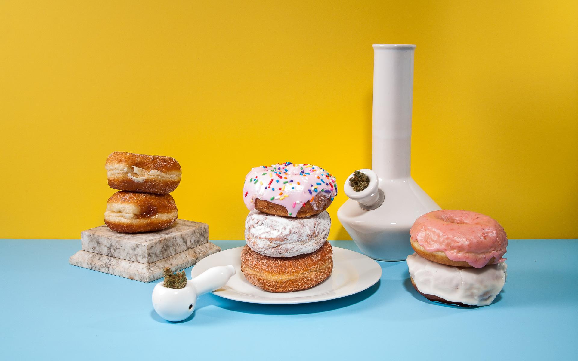 donuts, cannabis
