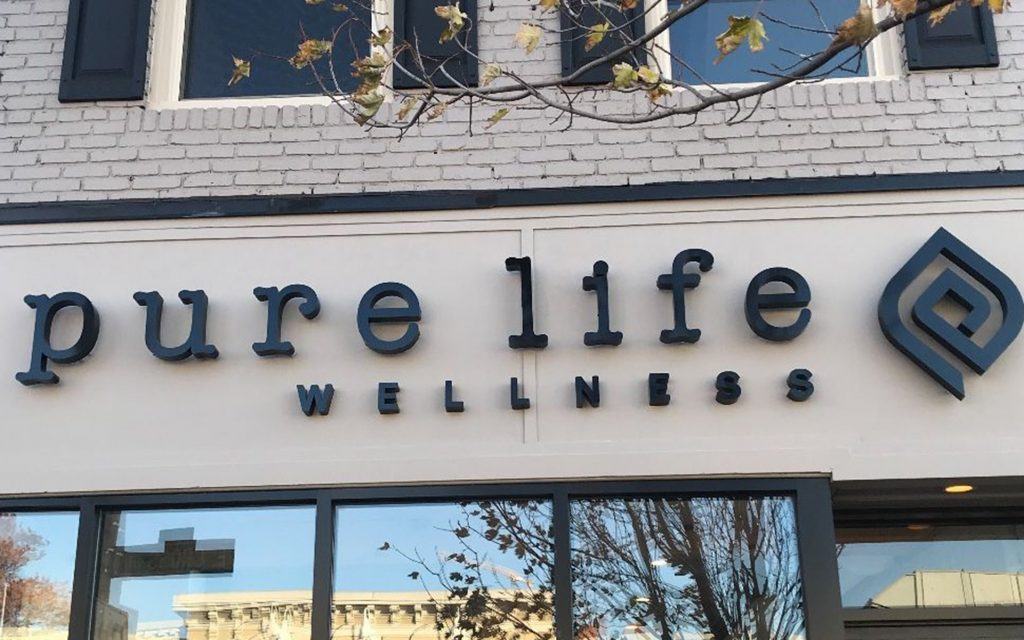 Best boutique dispensary in Maryland: Pure Life Wellness