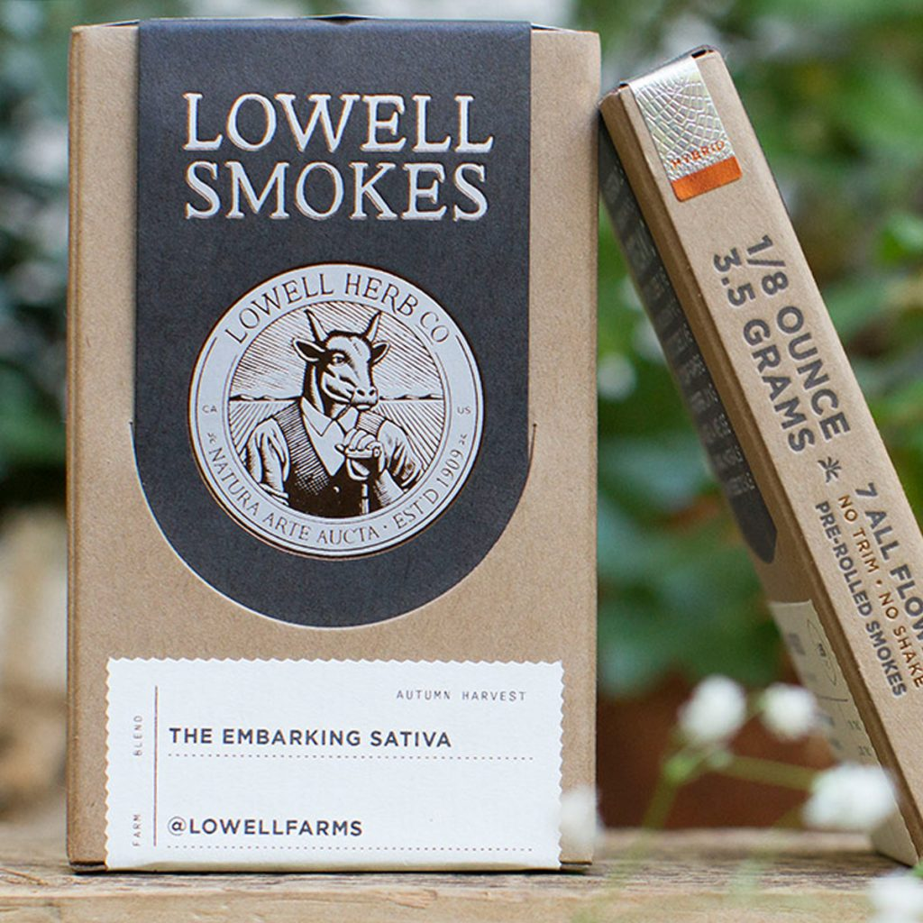 Best pre-rolled joints in California: Lowell Smokes from Lowell Farms