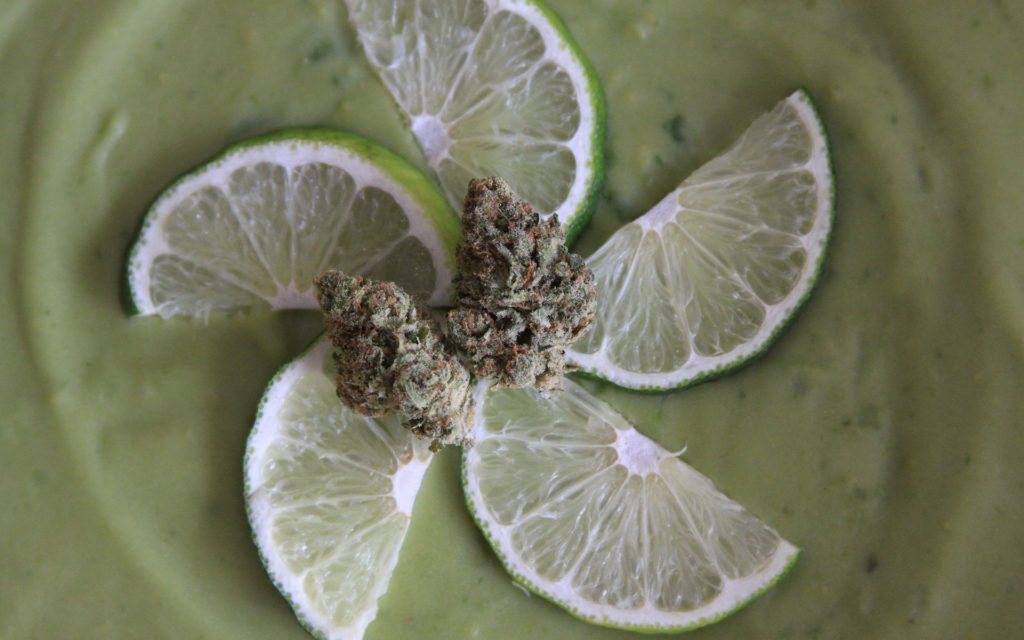 sweet weed strain that tastes like dessert: key lime pie