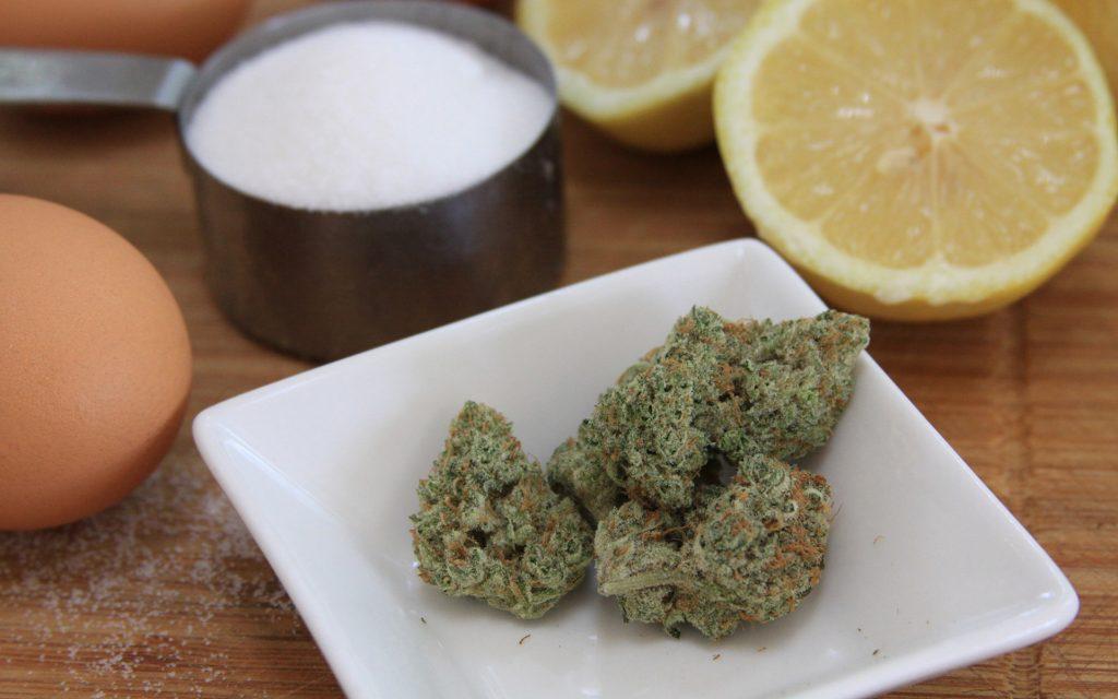 sweet weed strain that tastes like dessert: lemon meringue