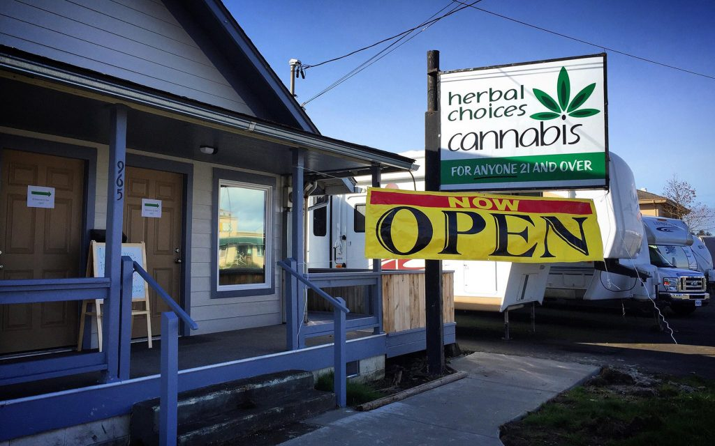 Oregon coast dispensaries & cannabis hotspots in Coos Bay: Herbal Choices