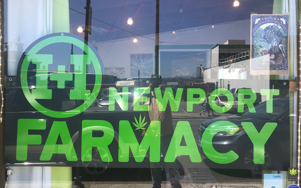 Oregon coast dispensaries & cannabis hotspots in Newport: I & I Cannabis