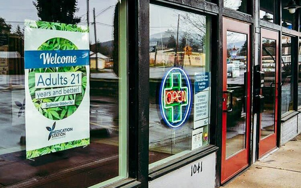 Oregon coast dispensaries & cannabis hotspots in Newport: Medication Station