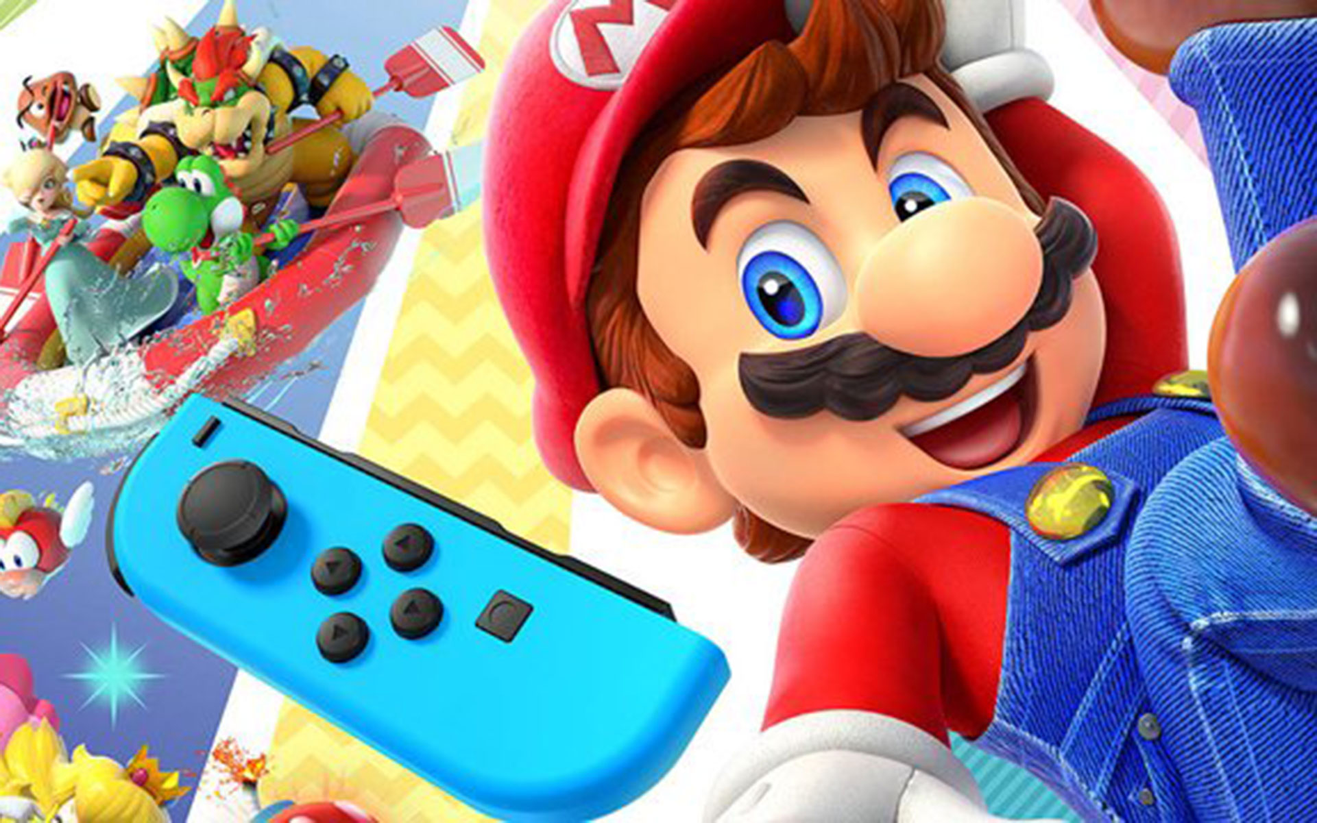 Nintendo's Super Mario Party stands among the best in pop culture this week.