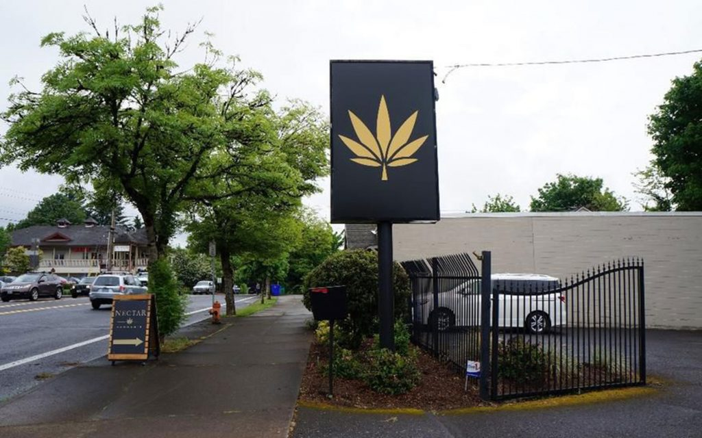 Order weed online in Oregon: Nectar in Burlingame