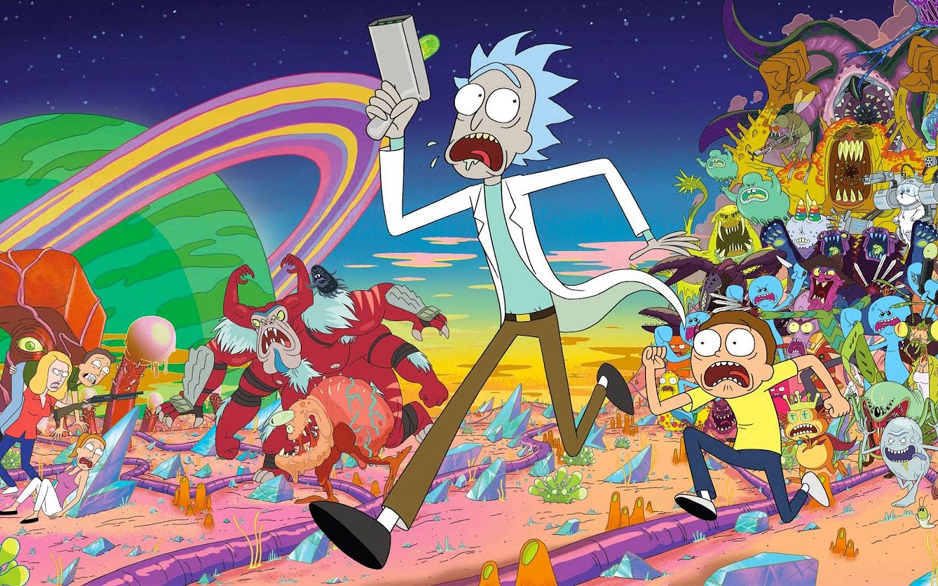 Rick and Morty's Cannabis Subculture Warps Into Los Angeles
