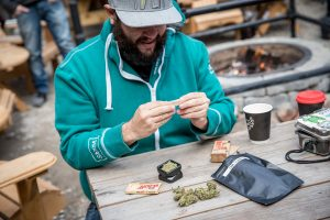 Marijuana legalization day in Canada: The Friendly Stranger