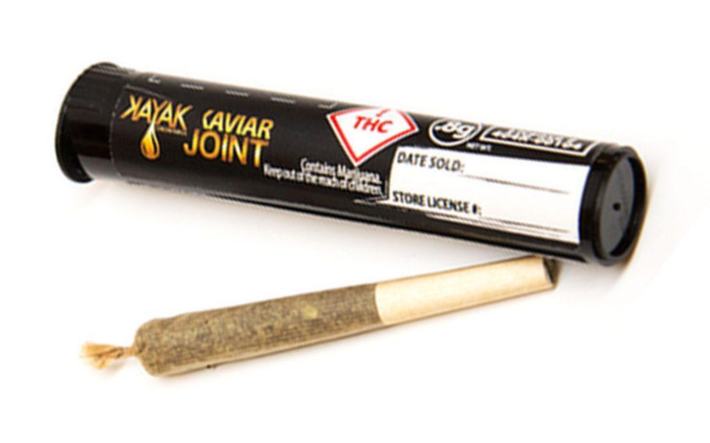 Caviar joints in Colorado: Kayak Cannabis Caviar Joints