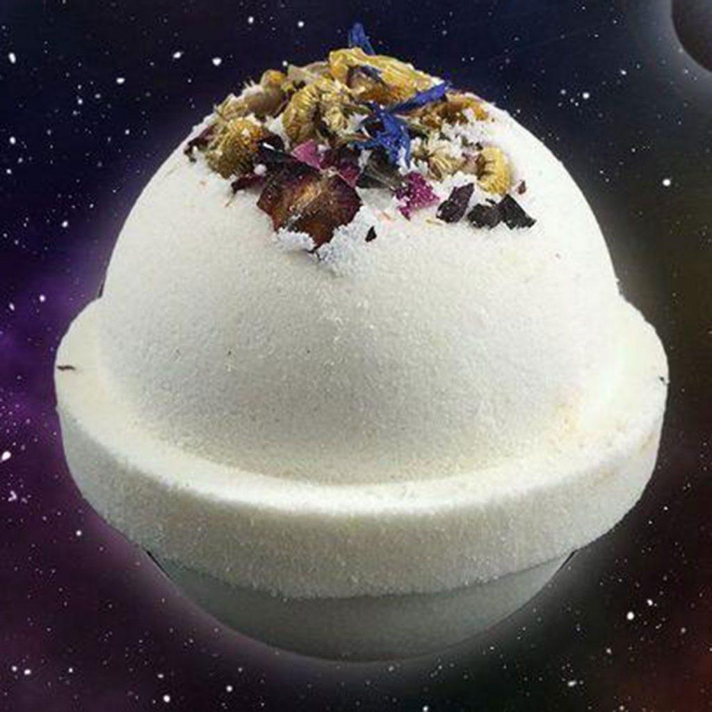 CBD & Hemp beauty product: Mercury Retrograde CBD Bath Bomb by Life Elements