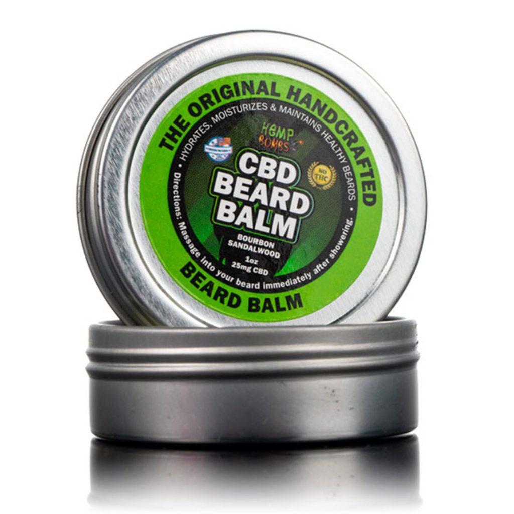 CBD & Hemp beauty product: CBD Beard Balm by Hemp Bombs