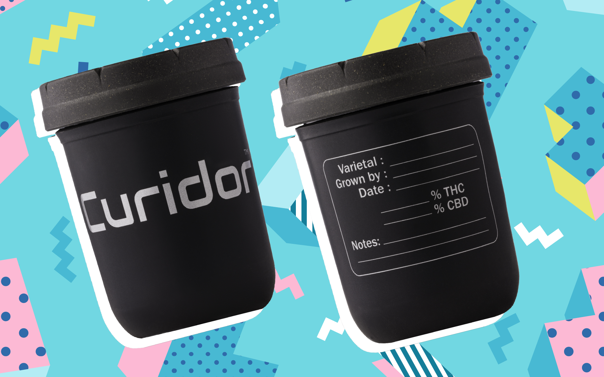 2018's best harvest stash jar might be from Curidor and Re:stash. (Courtesy of Curador)