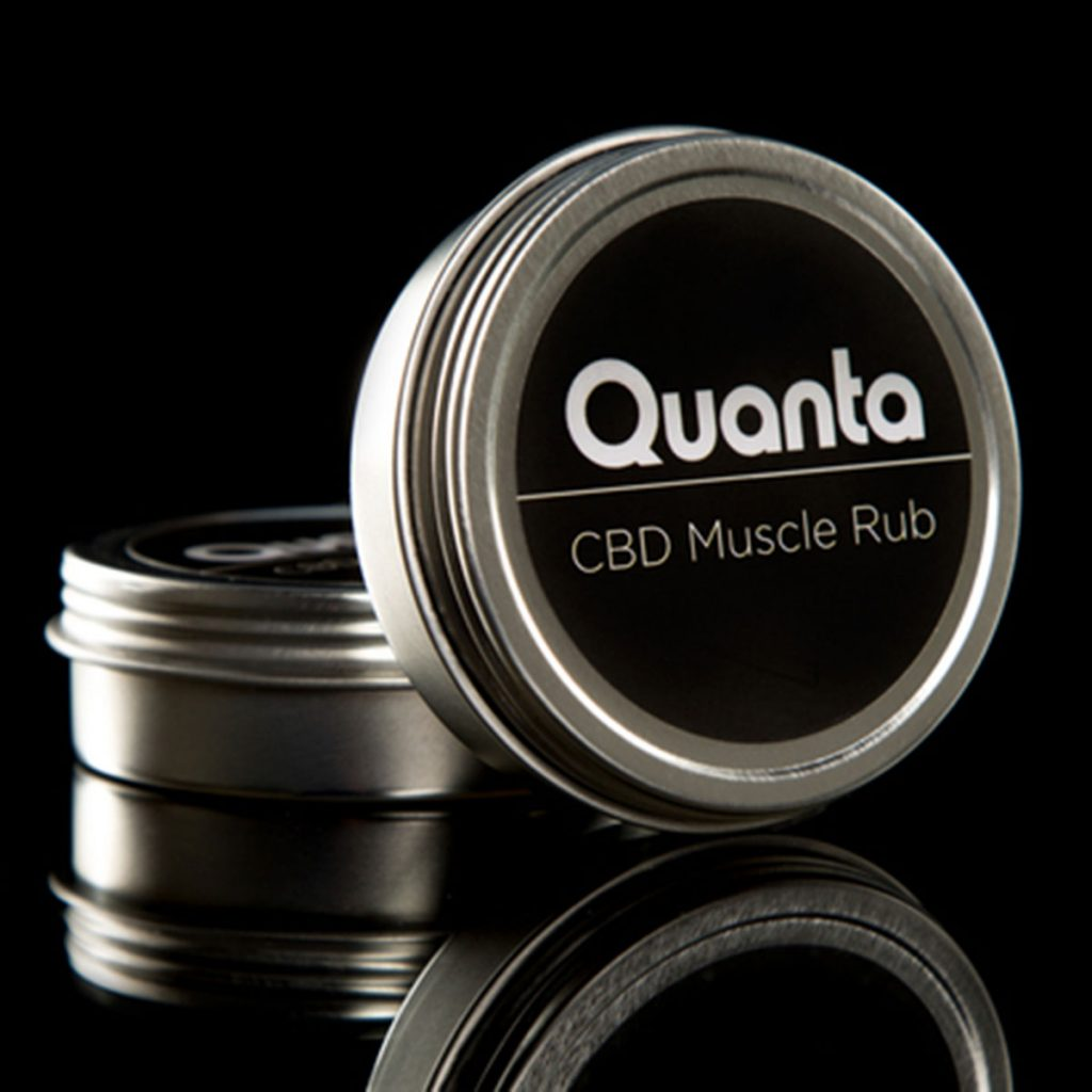 CBD products for a healthy lifestyle: CBD Muscle Rub by Quanta