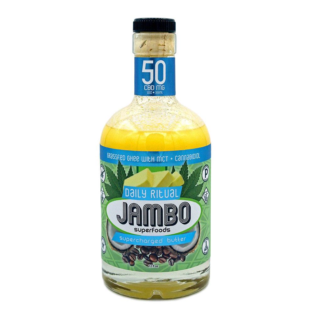 CBD products for a healthy lifestyle: Jambo CBD-infused Grassfed Ghee