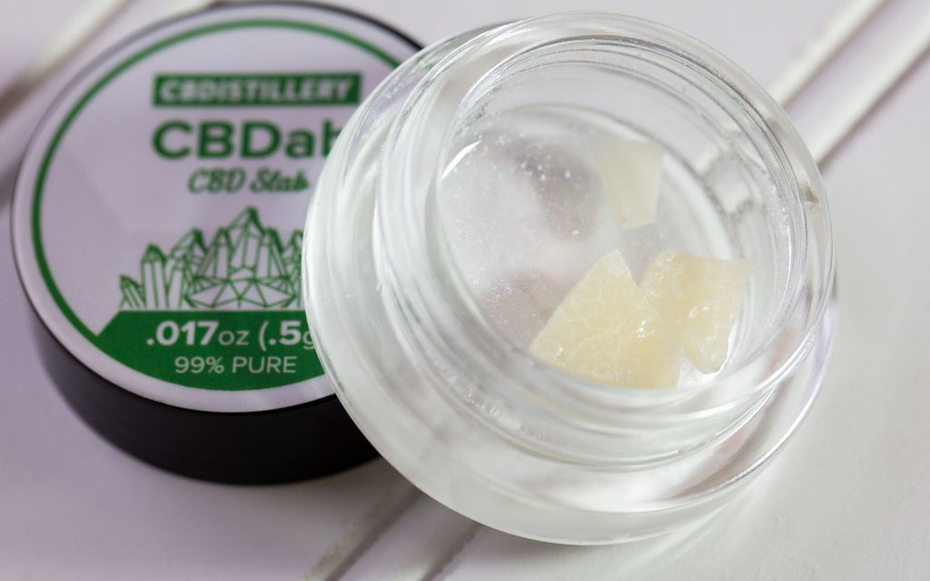 Buying CBD isolate online: The CBDistillery