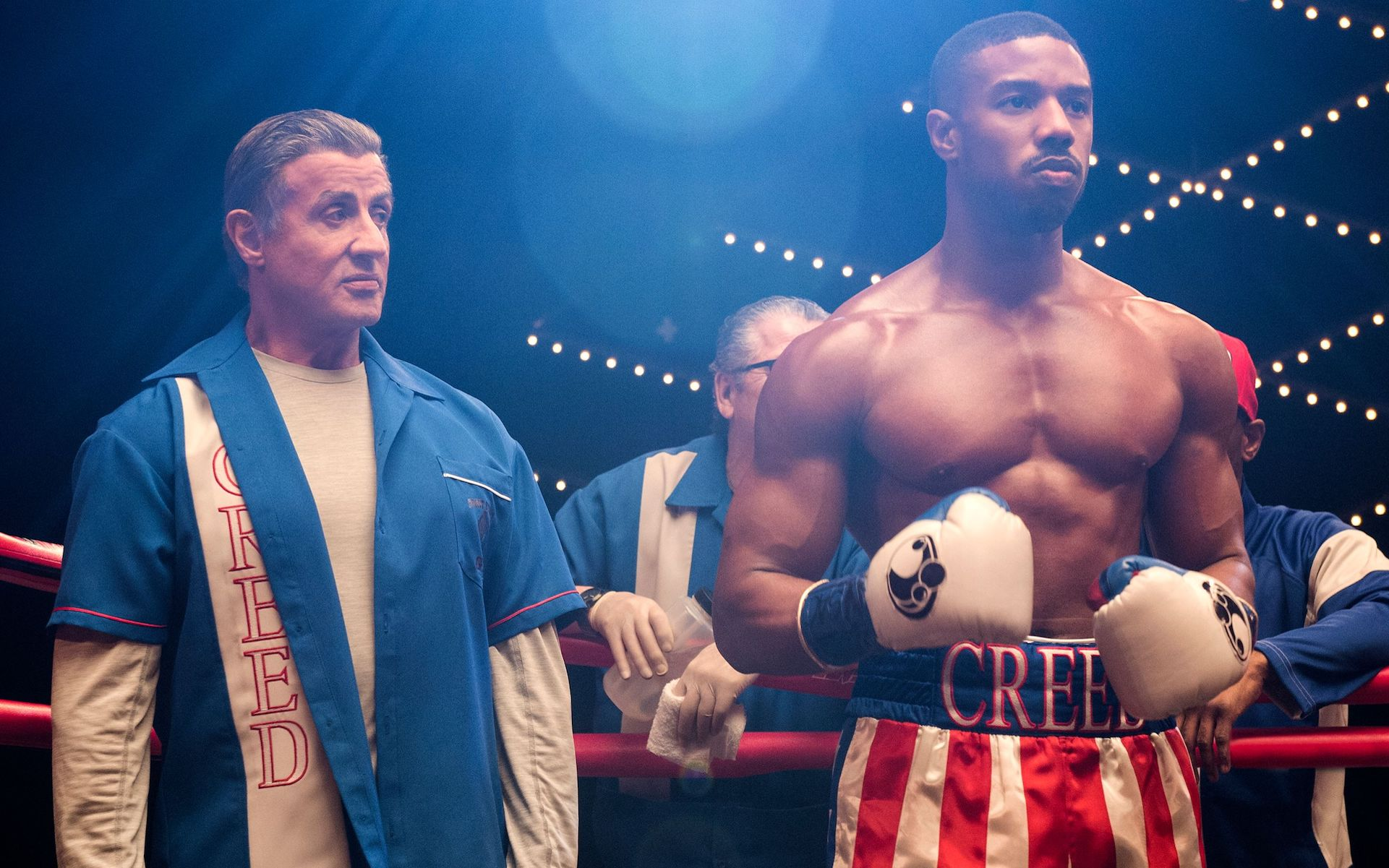 Creed 2 promises to be silly beefcake fun on a belly full of stuffing.
