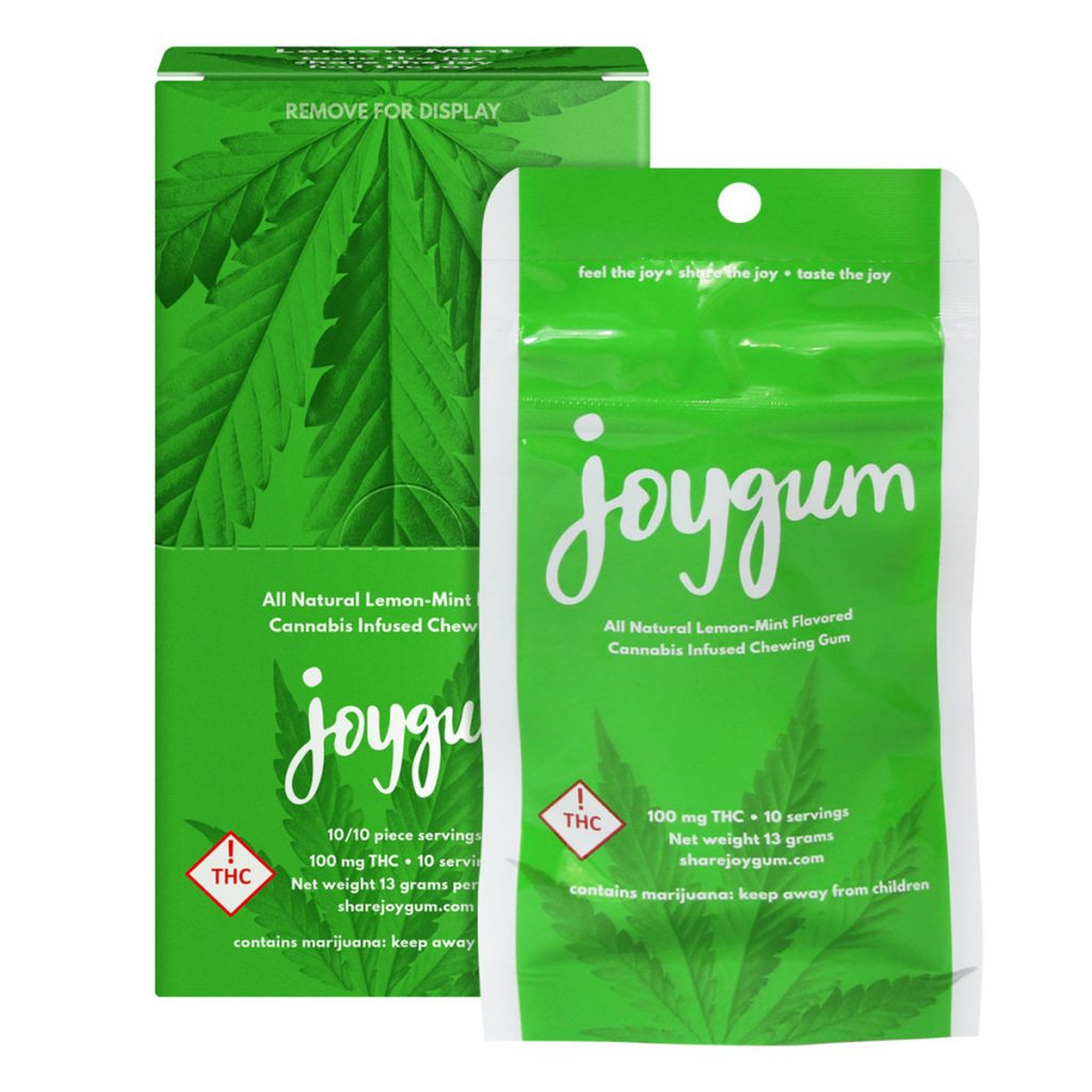 Discrete cannabis products for the holidays: Joygum
