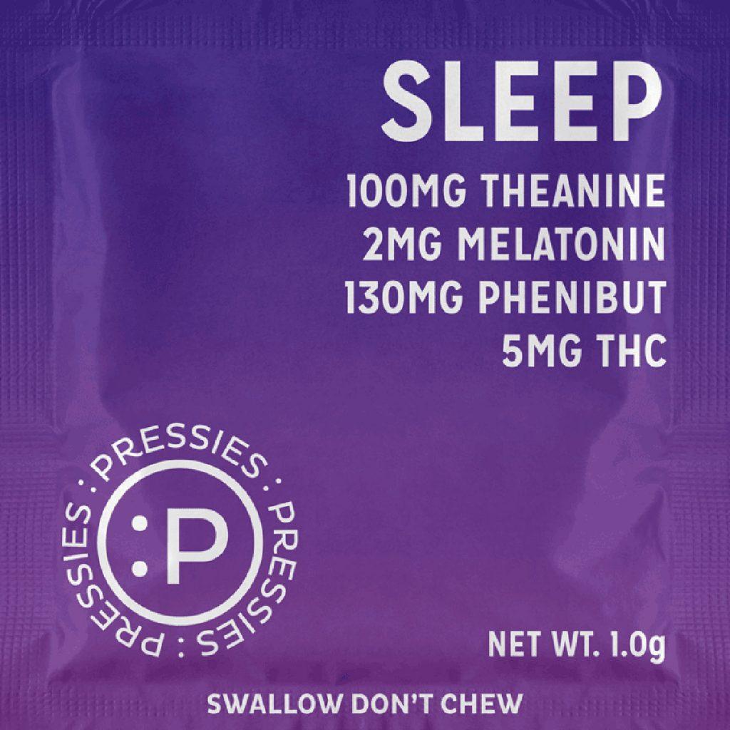 Colorado marijuana for sleep: Sleep Pressies