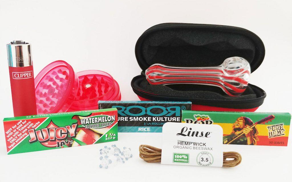 Marijuana subscription box: MonthlyStash
