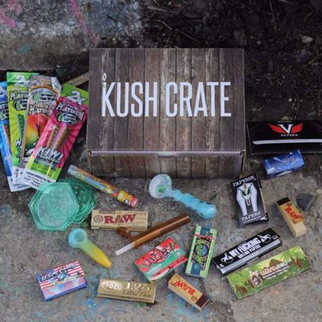 Marijuana subscription box: Kush Crate