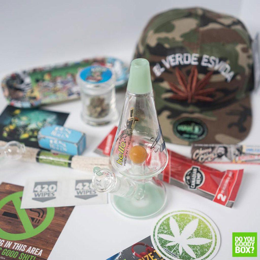 Marijuana subscription box: 420 Goody Boxes