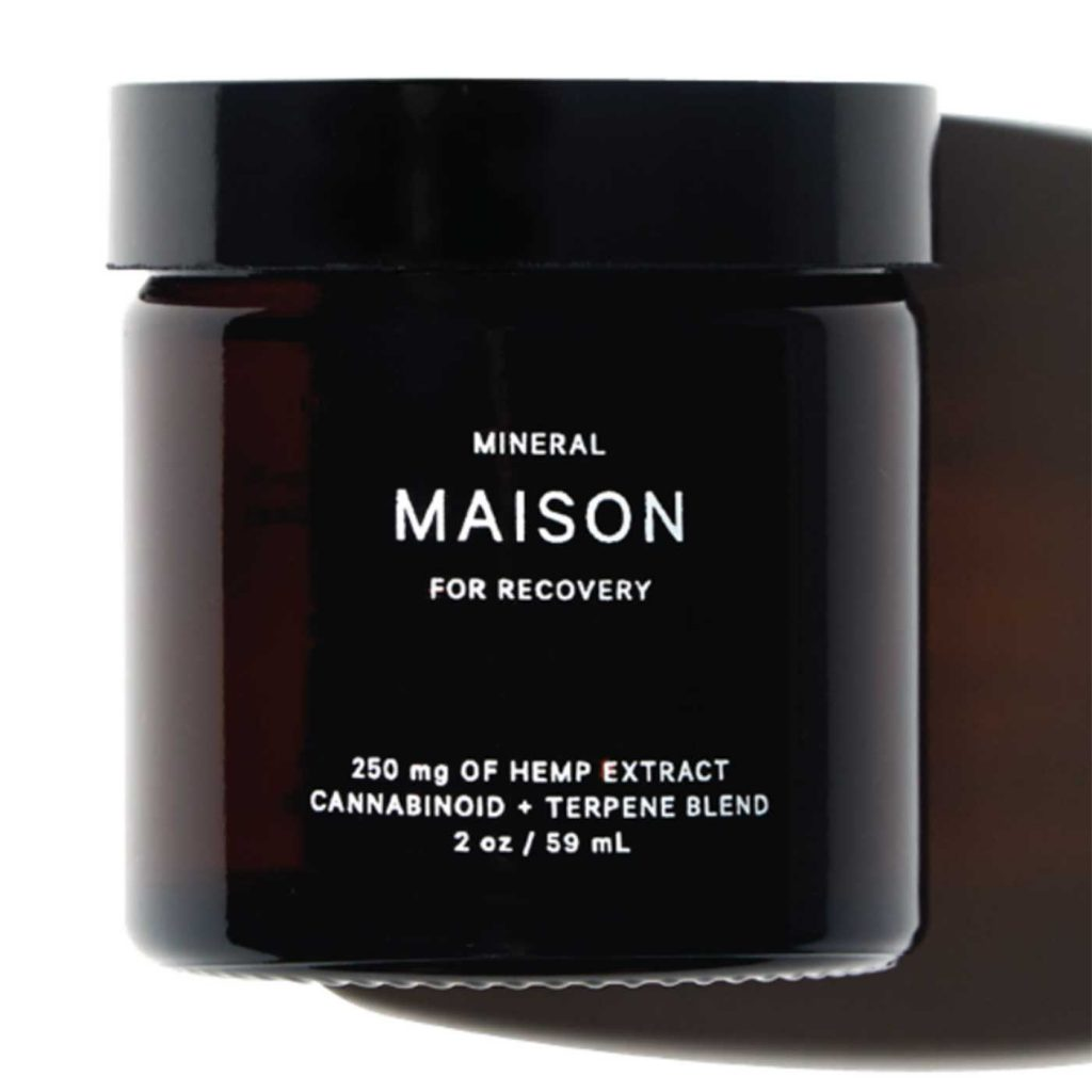 Last-minute marijuana gifts: MAISON Balm by MINERAL