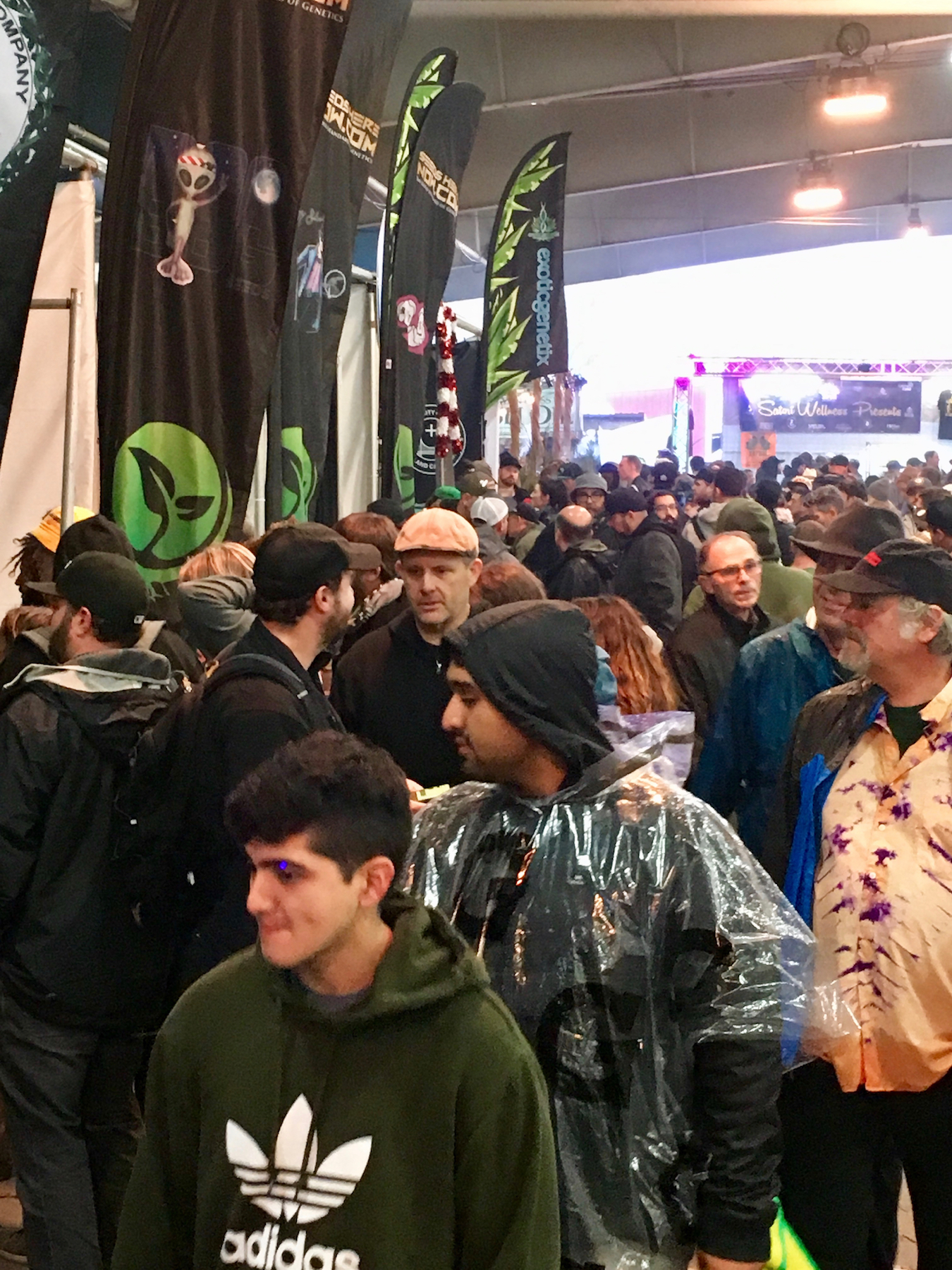 Thousands of growers scooped up millions of dollars in cannabis seeds at the world's largest genetic bazaar. (David Downs/Leafly)
