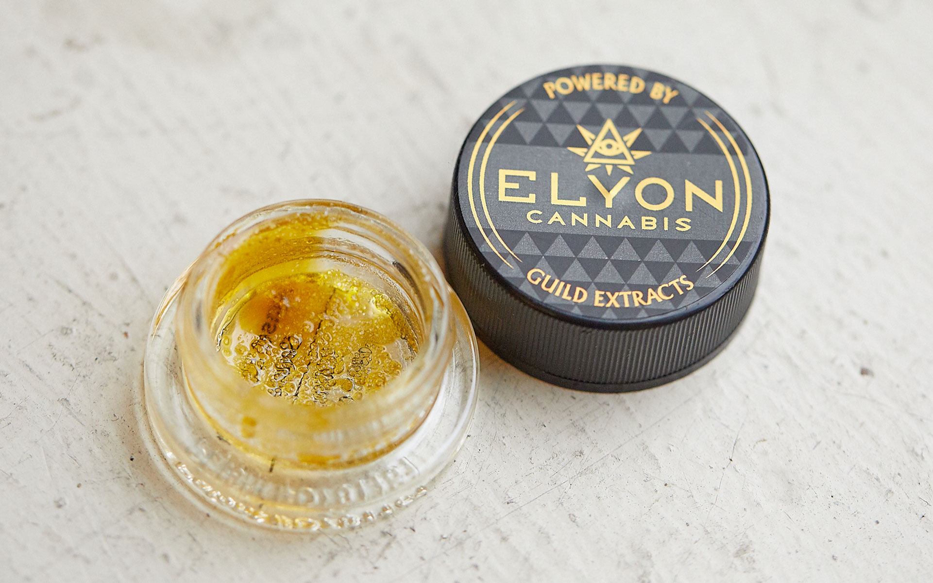 Elyon Guild extracts sauce live resin hash cannabis concentrate