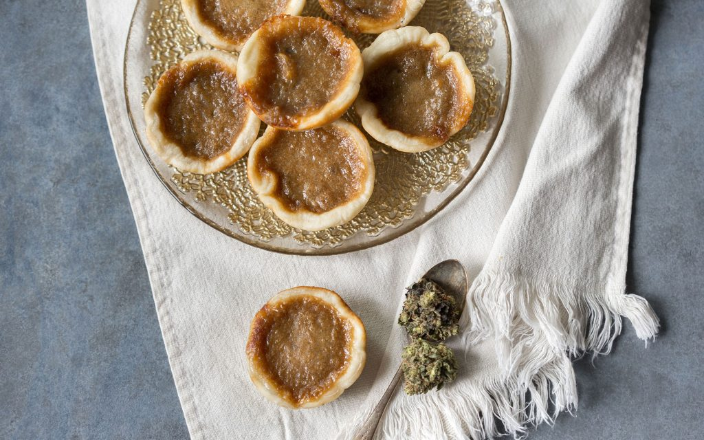 Cannabis-Infused butter tart