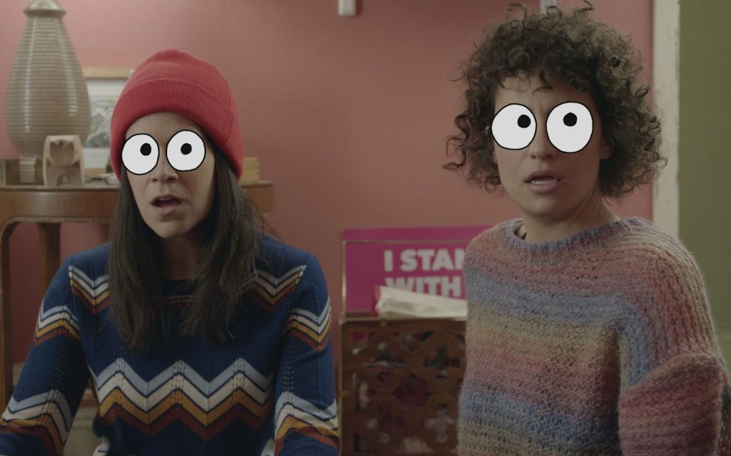 Broad City returns for a final season. Pair it with Golden Ticket for eye-popping effects.
