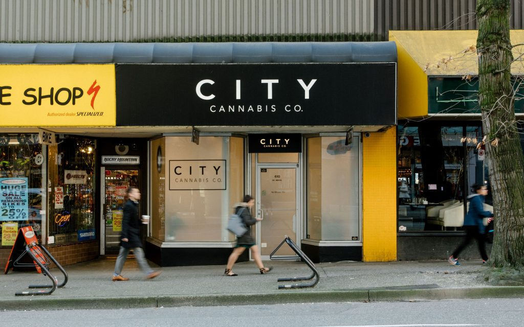 city cannabis co. robson vancouver