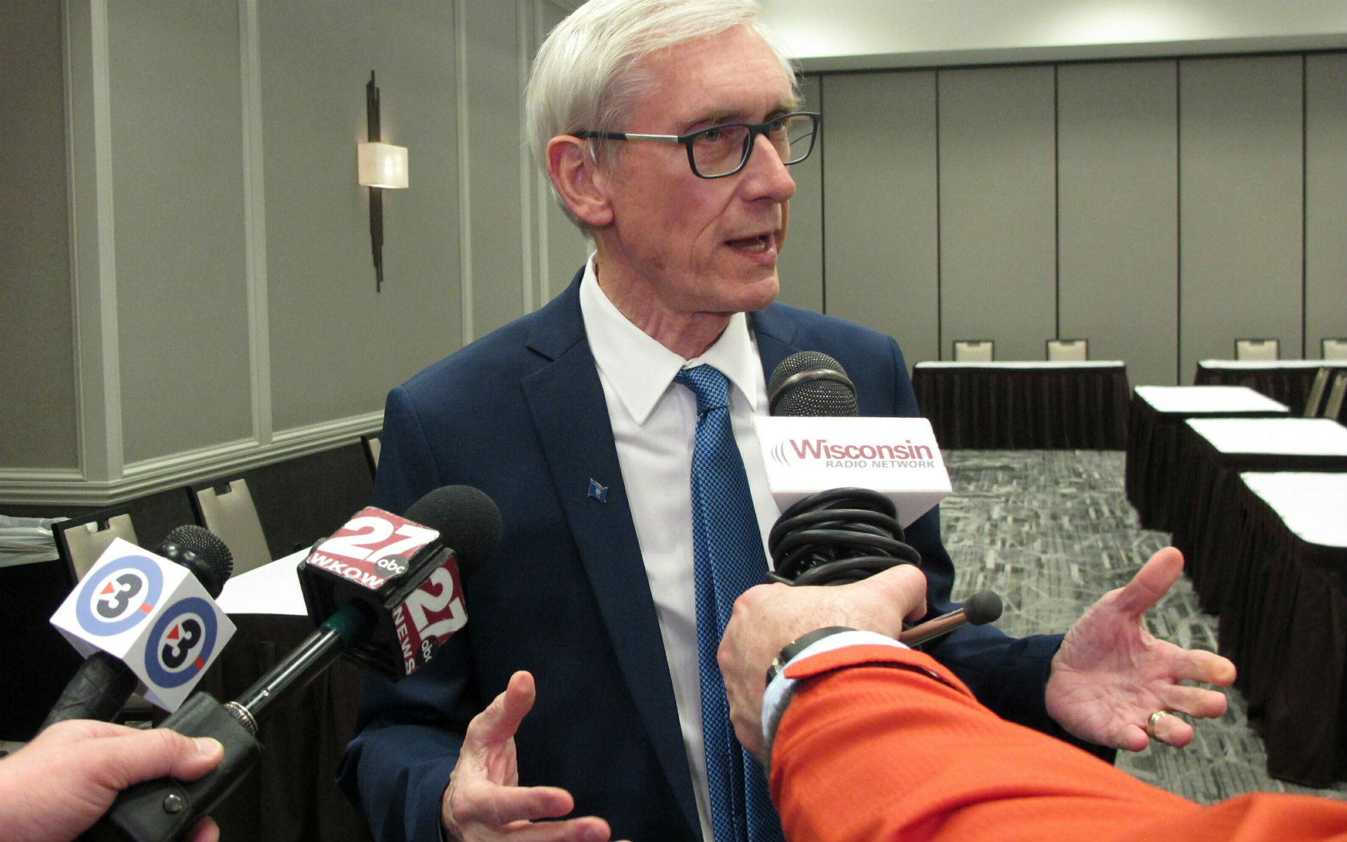 Wisconsin Gov. Tony Evers (Associated Press)