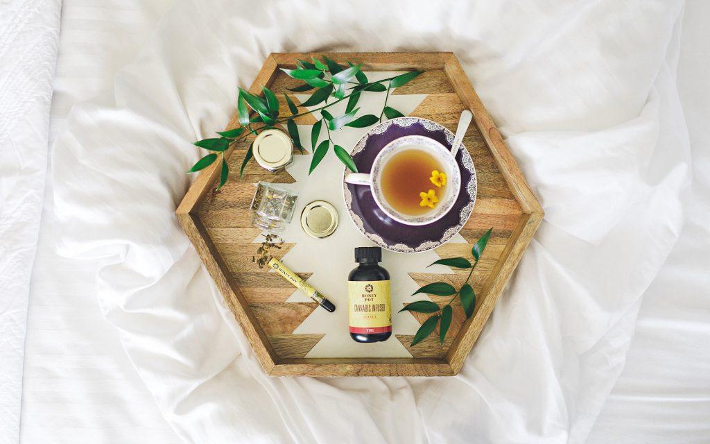 Honey, Meet Pot: Tea up some sick time with an infused hot drink. (Courtesy of Jennifer Skog)