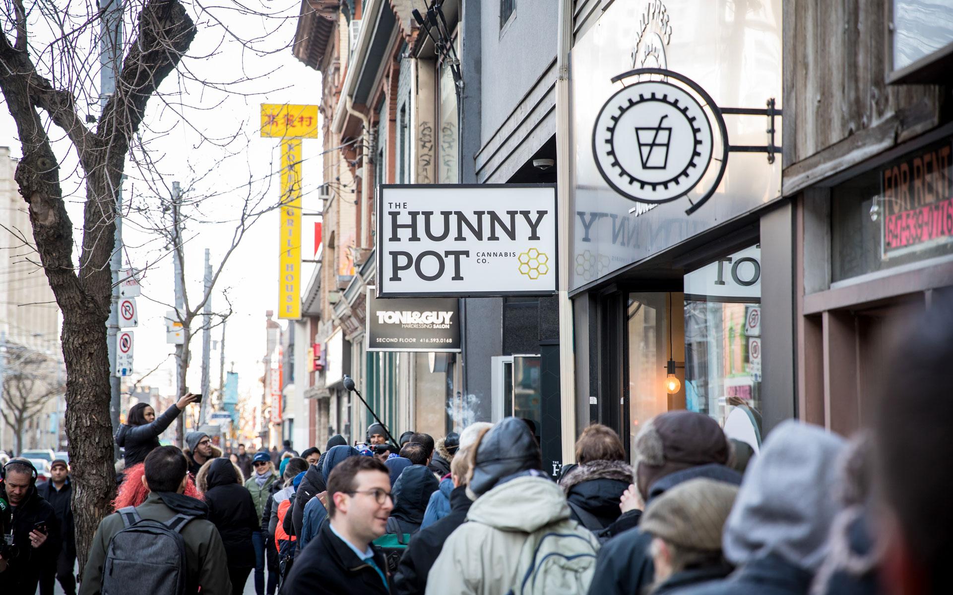 The Hunny Pot cannabis store