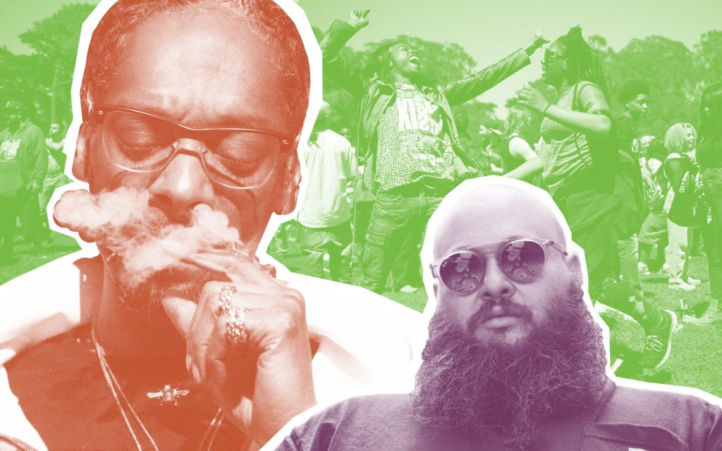 Snoop in Vegas or Action Bronson in DC? America is preparing for its biggest 420 yet. (AP, Courtesy of Action Bronson, Courtesy of Green Rush)