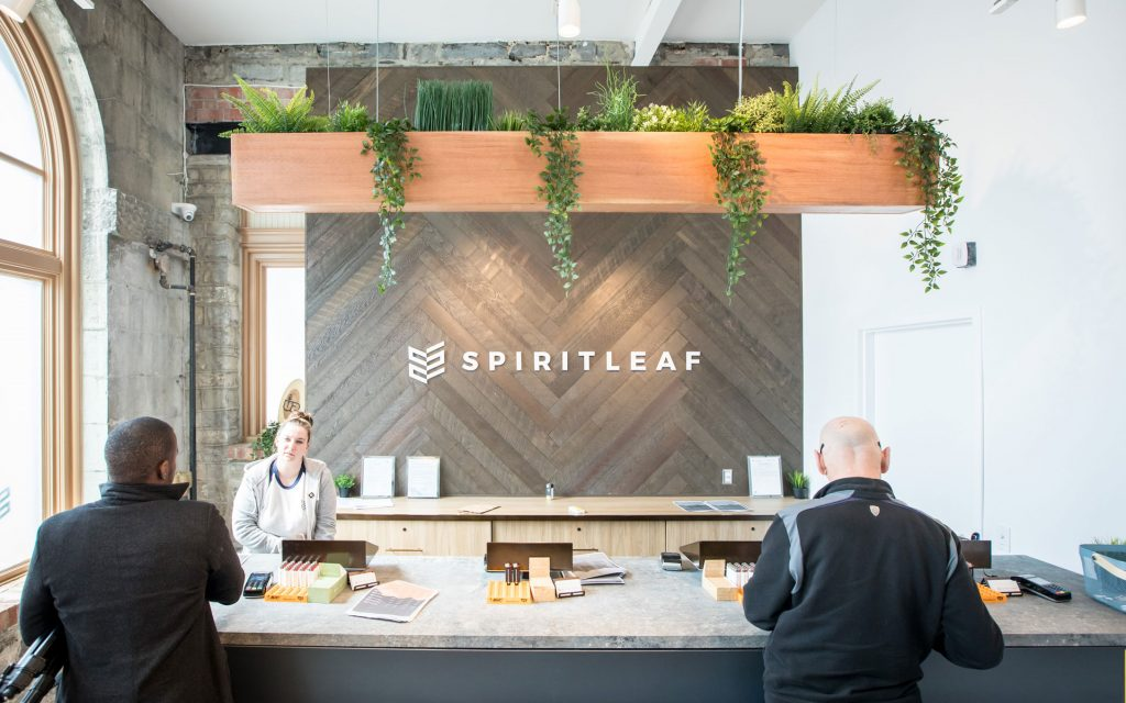 Spiritleaf Kingston Princess Street cannabis store