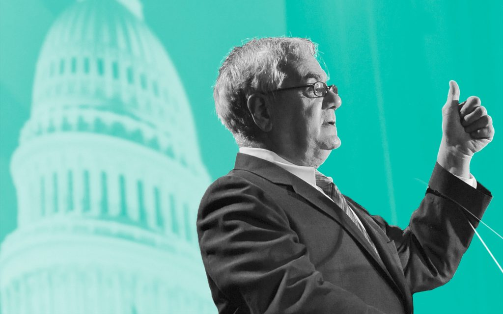 Legalization Lion: Rep. Barney Frank did 32 years in Congress, repping Massachusetts on legalization, marriage equality, banking reform. (Lisa Poole/AP)