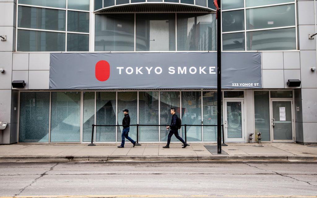 Tokyo Smoke Yonge Street Ontario