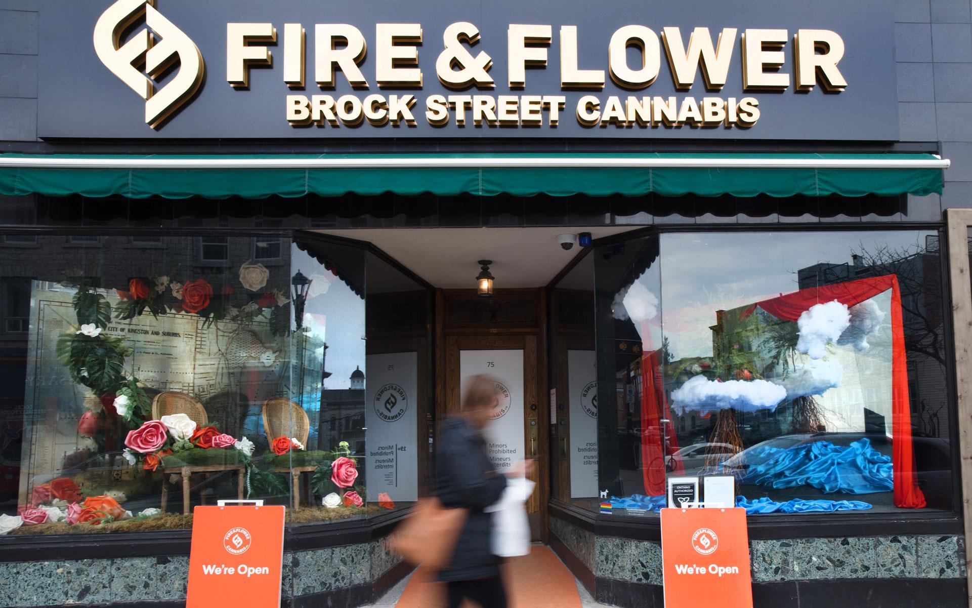 Fire & Flower Kingston Ontario