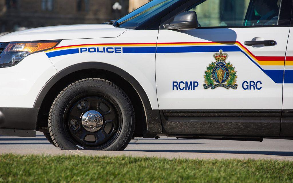 RCMP vehicle canada
