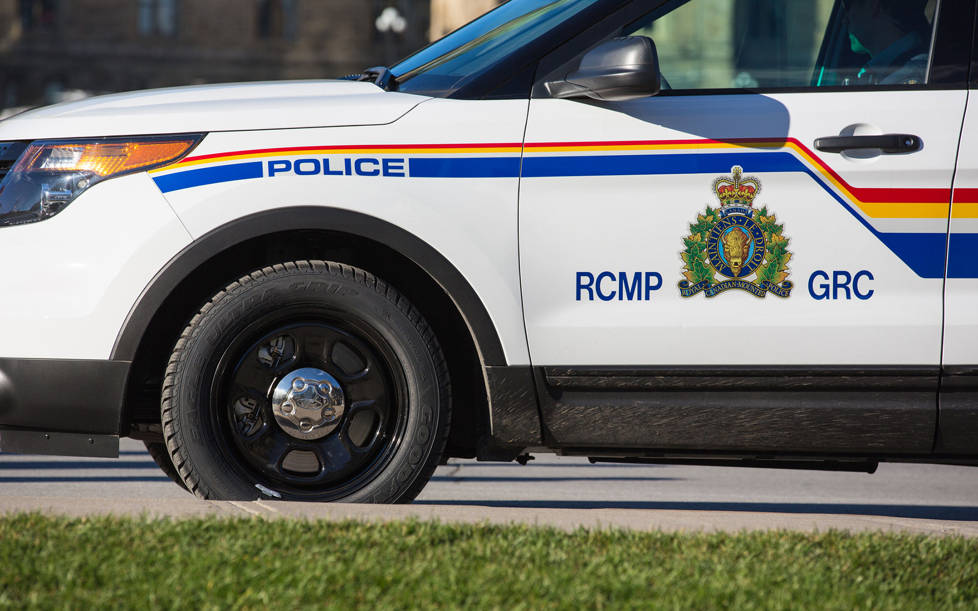 RCMP vehicle canada