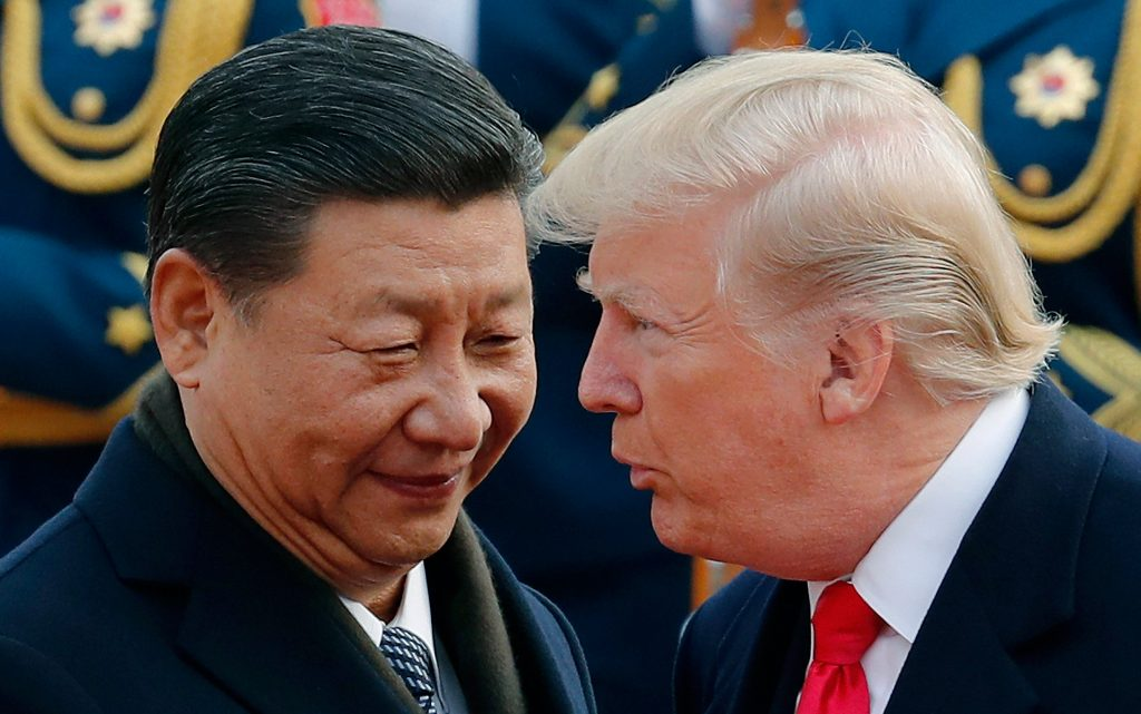 Trump tariffs hit the marijuana industry this month, as talks between the US President and Chinese President Xi Jinping, pictured, drag on.