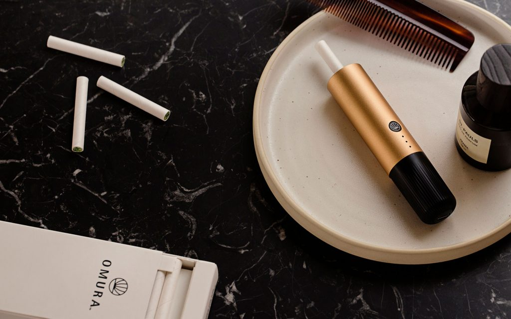 Father's Day 2019 gift ideas for marijuana fans include the Omura flower vape cart system.