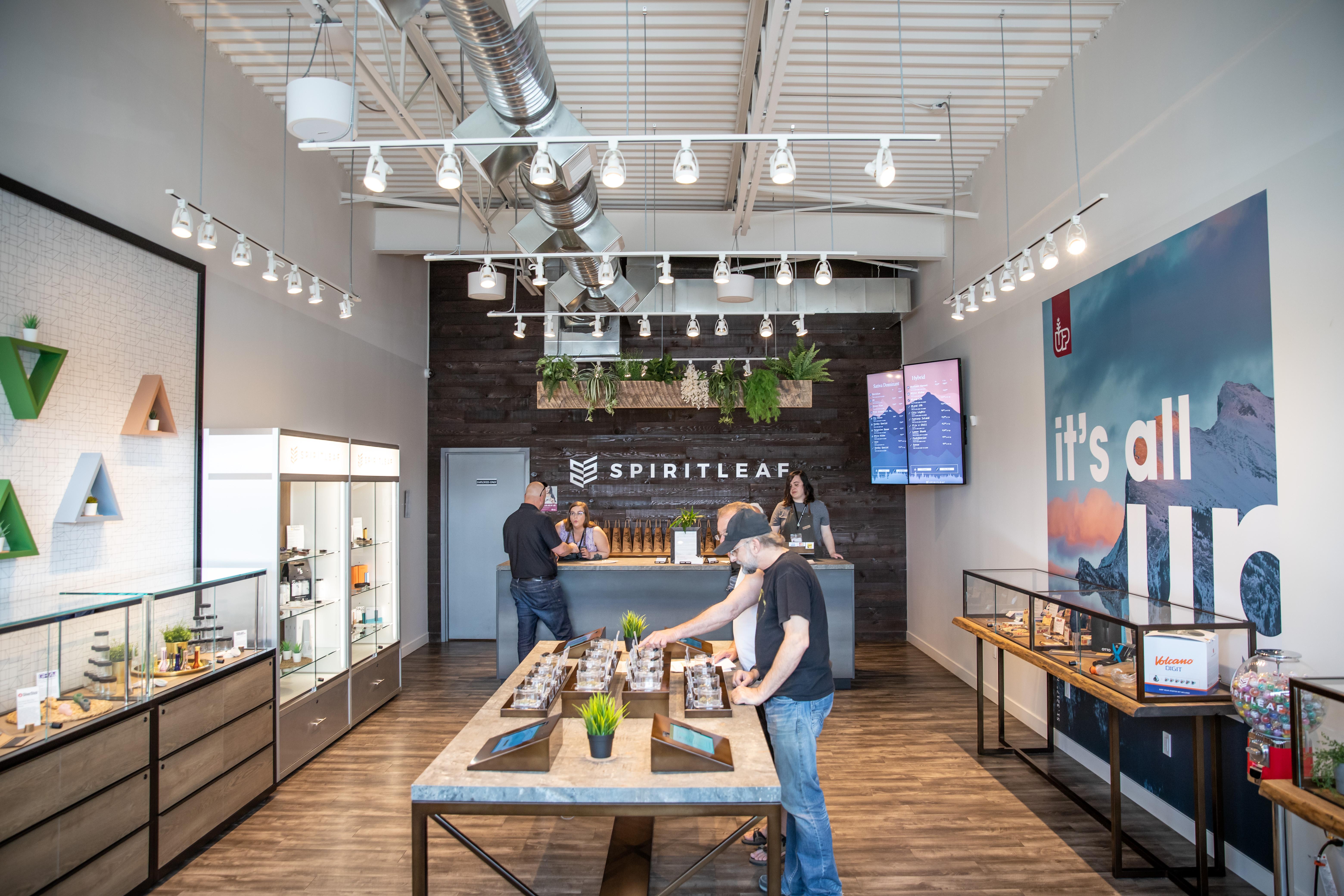 spiritleaf retail store